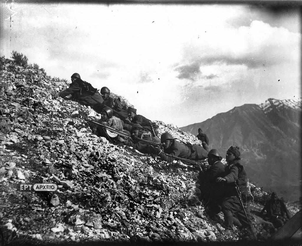 Ελληνικό Πεζικό στα Αλβανικά βουνά, Αρχείο ΕΡΤ – Πέτρος Πουλίδης
